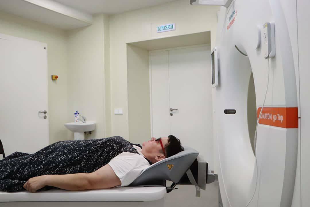 Кабинет компьютерной томографии появился в больнице Зарайска | Изображение 1