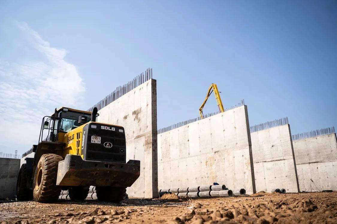 На мусороперерабатывающем комплексе «Нева» начали монтировать основное оборудование | Изображение 1