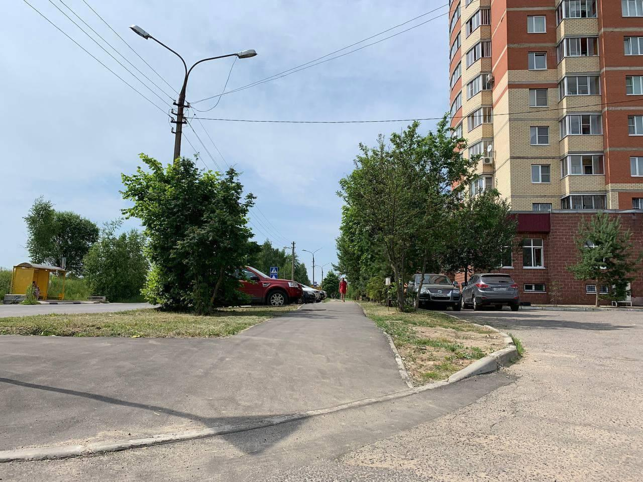 Новые тротуары улучшили подходы к главным соцобъектам во Фрязине   Изображение 2