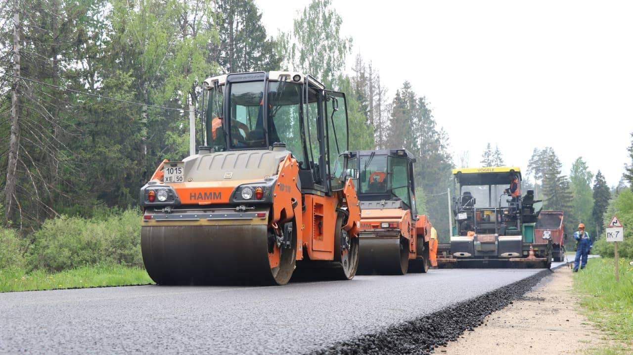 Ремонт дорог улучшил подъезды к важным социальным объектам в Клину | Изображение 1