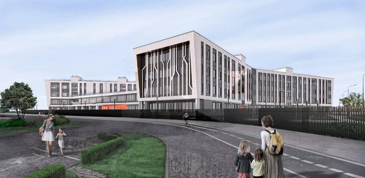 Школа для 1,5 тысячи ребят появится в новом квартале Люберец | Изображение 1