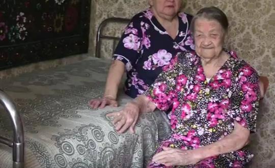 Ветерана из Воскресенска поздравили со 100-летним юбилеем