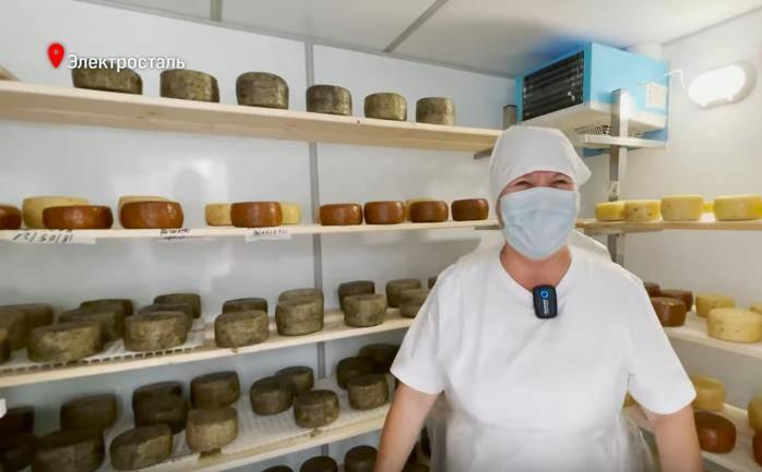 Женщина-фермер из Подмосковья обучилась у итальянцев и открыла свою сыроварню