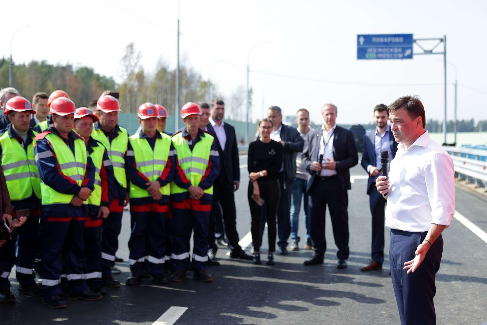 Без пробок и светофоров. Новую развязку перед индустриальным парком «Есипово» открыли в Солнечногорске | Изображение 3