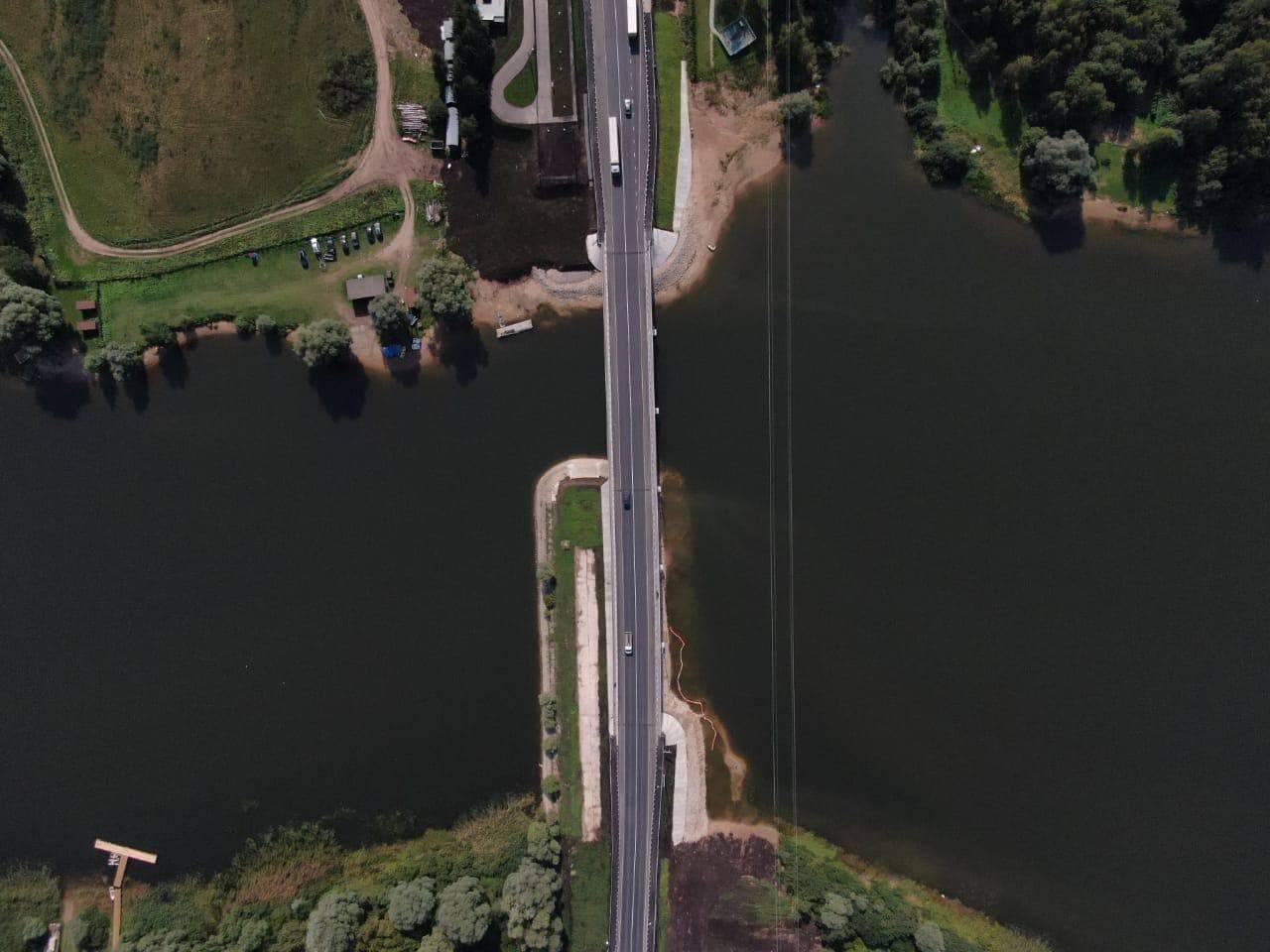 Мост через реку Вейну в Рузе реконструировали досрочно   Изображение 1