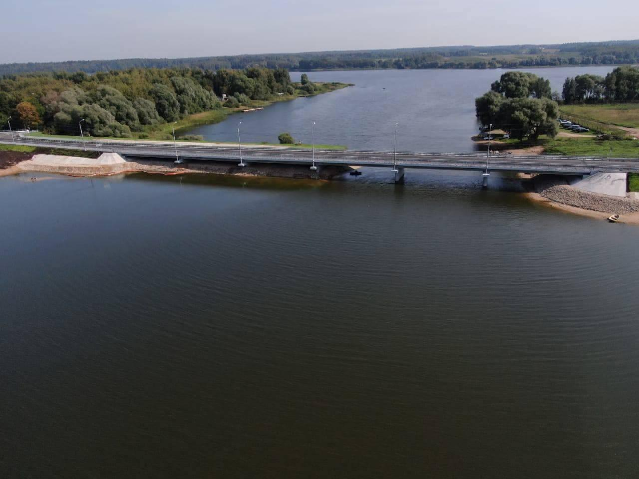 Мост через реку Вейну в Рузе реконструировали досрочно   Изображение 2