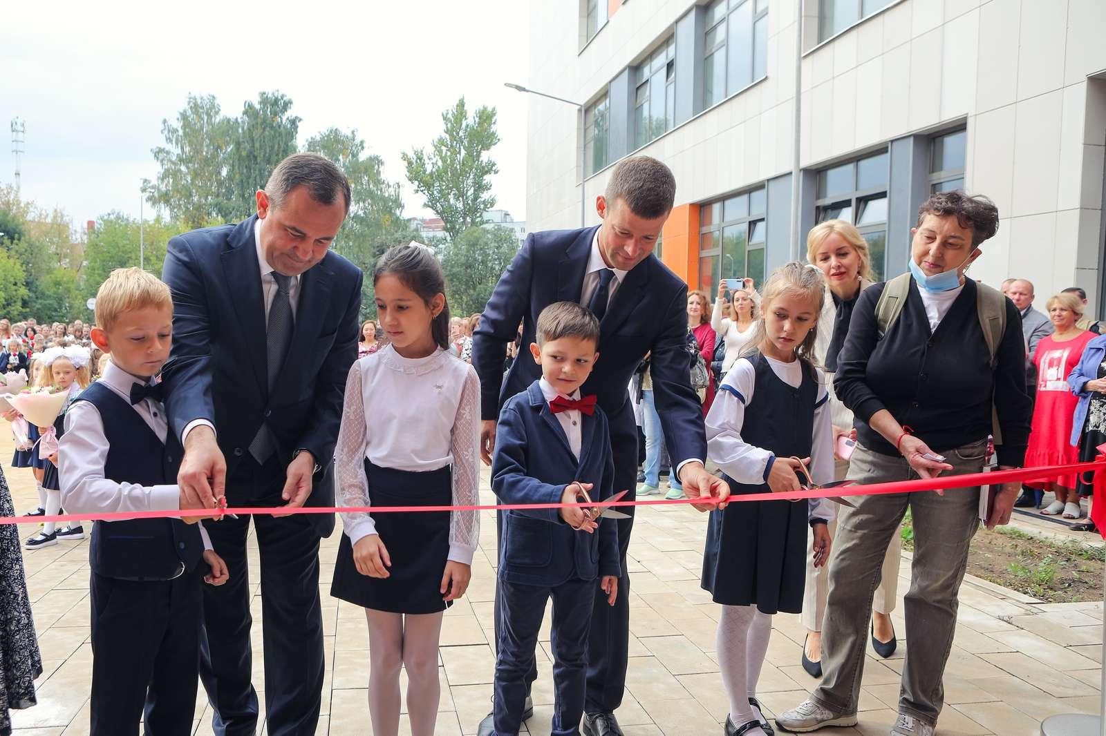Школу на 1,1 тысячи мест открыли в Балашихе в День знаний | Изображение 1
