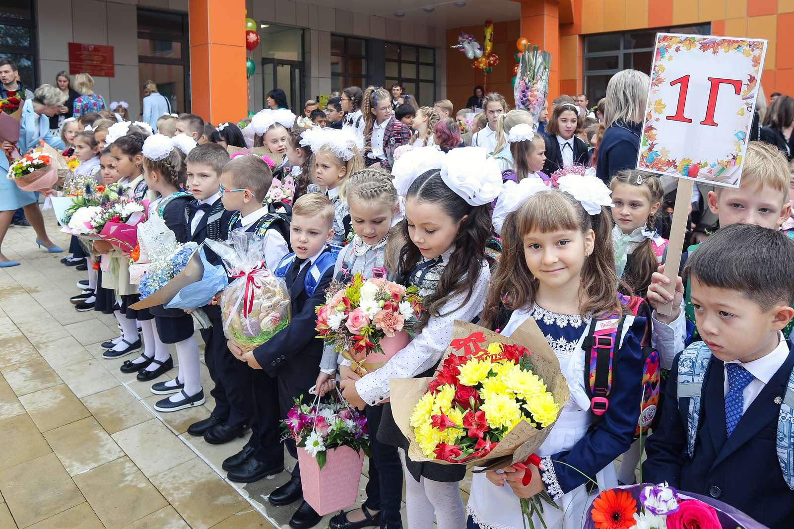 Школу на 1,1 тысячи мест открыли в Балашихе в День знаний | Изображение 2