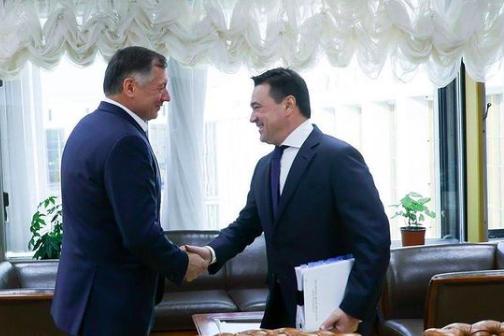 Андрей Воробьев и Марат Хуснуллин обсудили решение проблем дольщиков | Изображение 1