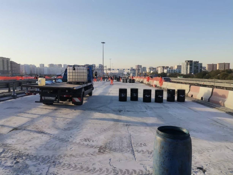 Путепровод на трассе М-5 в Люберцах отремонтируют к концу октября | Изображение 1