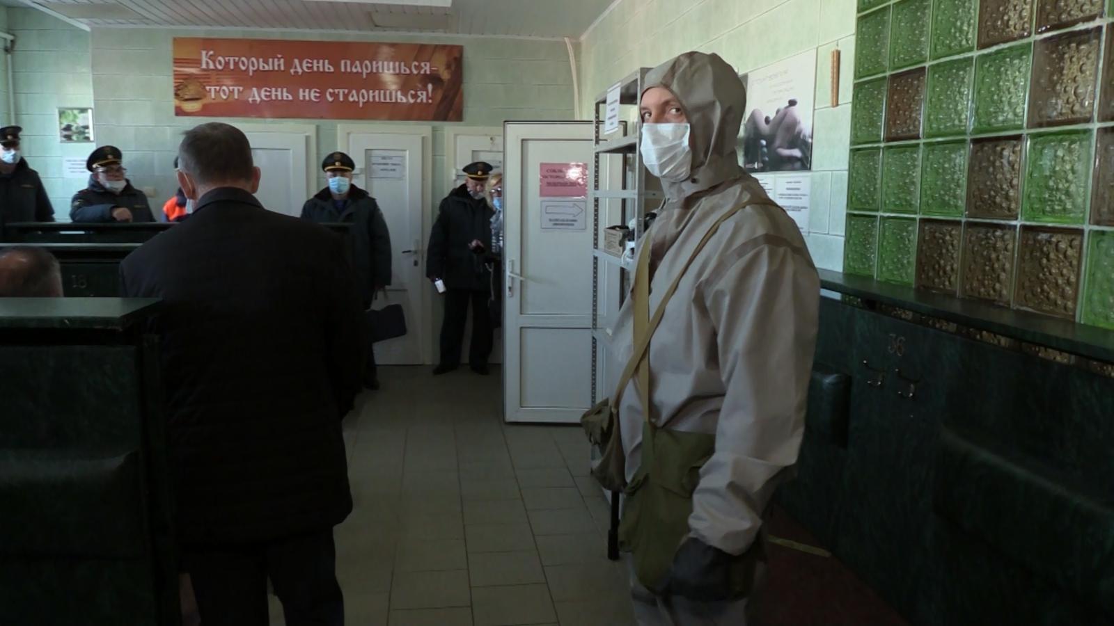 Учения по безопасности при чрезвычайной ситуации провели в Электростали | Изображение 2